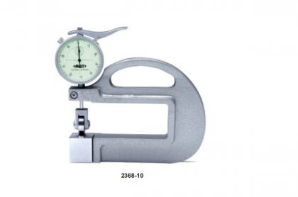 THICKNESS GAUGE WITH ROLLING WHEEL