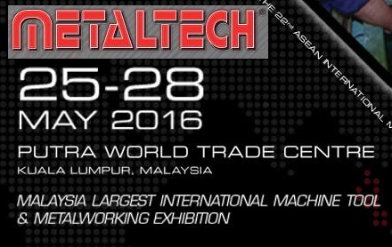 VISIT US AT METALTECH 2016